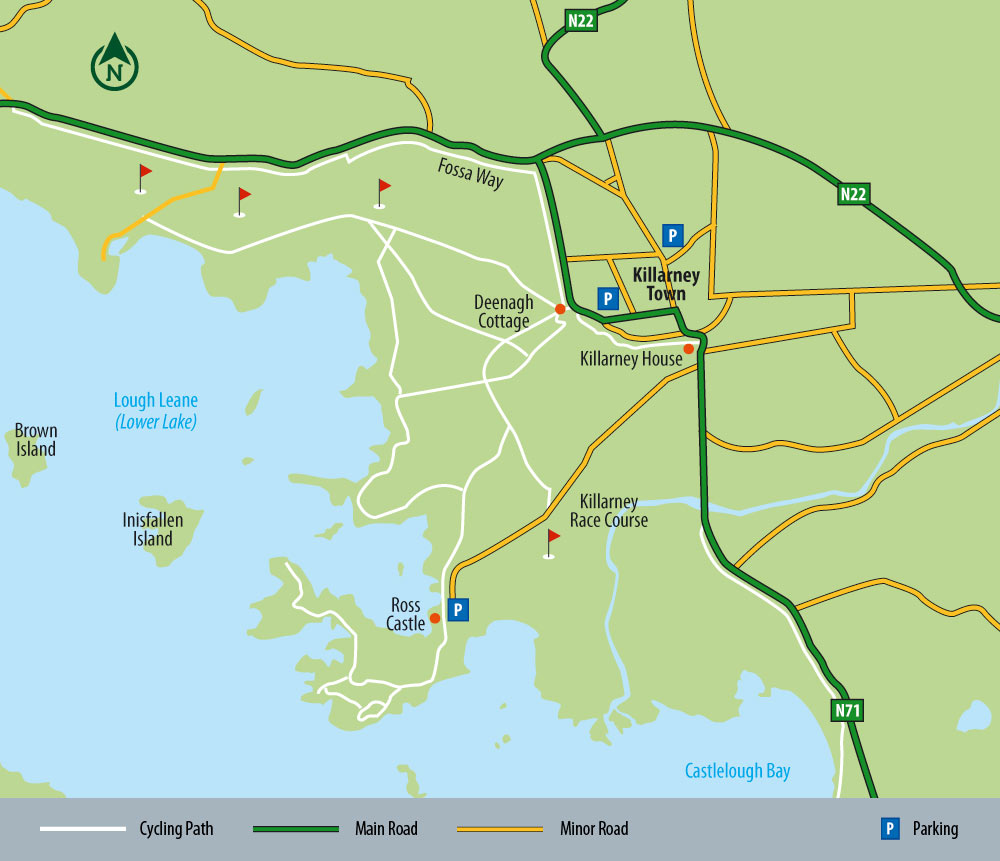 Knockreer and Ross Island Cycling Paths